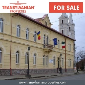 FOR SALE: Austro-hungarian historical building in Somcuta Mare, Maramures Transylvania | Price: 679,000 Euro