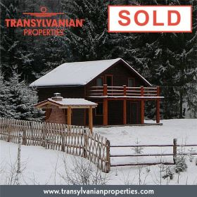 SOLD: Bungalow-villa with swimming pool in Gelence (Ghelinţa) Transylvania | Price: 75,000 Euro.
