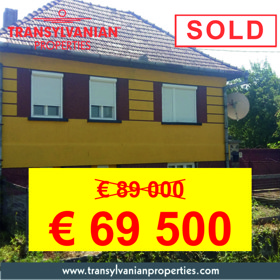 FOR SALE: Family home with commercial potential in Jimbor (Székelyzsombor)  - Transylvania | 69 500 Euro