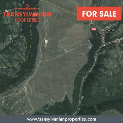 FOR SALE: 2000+ sqm land in Homorod, Harghita County - Transylvania | 18 000 Euro [The property can be sold with an  adjoining holiday home for 60 000 Euros]