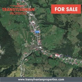 FOR SALE: Land for property development in Moeciu de sus - Transylvania | Price: 55 000 Euro