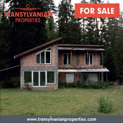 FOR SALE: 70% finished weekend house in Zagon - Transylvania | Price: 55 000  Euro