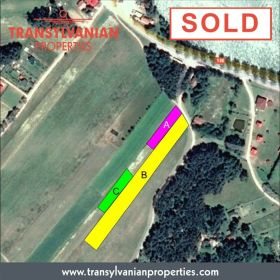 FOR SALE: Land, with building permission in a Transylvanian holiday area with lake | PRICE : POA