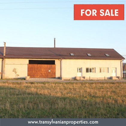 FOR SALE: Industrial building (brick factory) in Ghelinta (village) in county Covasna - Transylvania | Price: 240,000 Euro