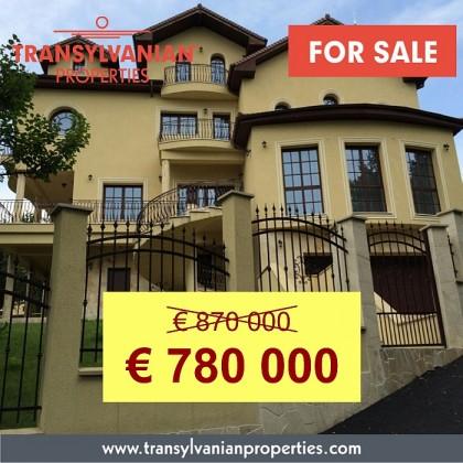 FOR SALE: Villa in Targu Mures, Mures County - Transylvania   Price: 780 000 Euro