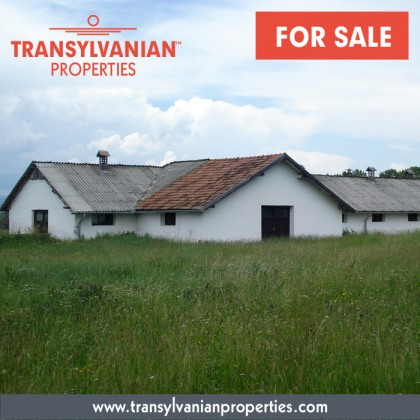 FOR SALE: Industrial building in Hilib (village) in county Covasna - Transylvania | Price: 27,000 Euro